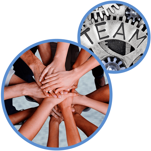 join us graphic showing teamwork